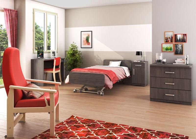 chambre medidom mobilier winncare. Black Bedroom Furniture Sets. Home Design Ideas