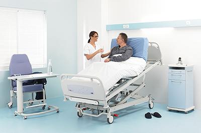 Lit hospitalier Medicalys de deuxième génération Lits médicalisés ...